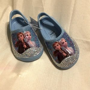 NWT Frozen Blinged out customize Sandals